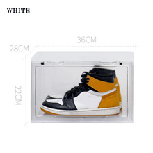 Sneaker Shoe Box Acrylic Display Shoes Storage Case Organizers Stackable Foldable  JA55