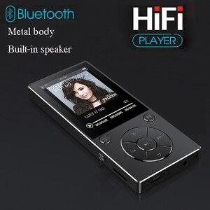 Image 2 - 2020新ハイファイ音楽ロスレスMP4プレーヤーbluetooth hd Screen2.4inch内蔵スピーカー16グラムMP4音楽プレーヤーsdカードまで128グラム