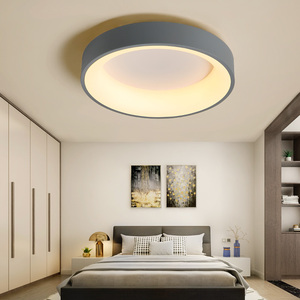 Image 4 - NEO Gleam Round/Square Modern Led Ceiling Lights For Living Room Bedroom Study Room Dimmable+RC Ceiling Lamp Fixtures 90 260V