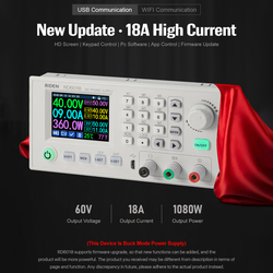 RD RD6018 RD6018W USB WiFi DC-DC Voltage Current Step-down Power Supply Module Buck Voltage Converter Voltmeter VS RIDEN RD6006