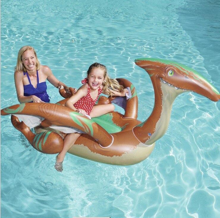 Bestway41105 Pterosaur gaz équitation dinosaure modélisation enfants anneau de bain bébé eau gonflable lit flottant