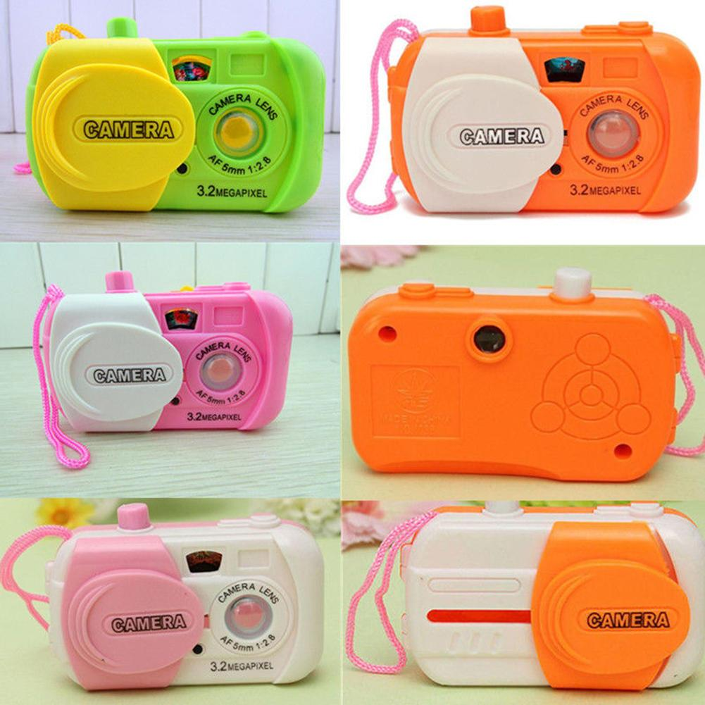 2019 Kids Children Baby Study Camera Children Take Photo Animal Learning Educational Toys Gift 8.5cm X 2.3cm X 4.5cm