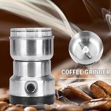 Electric Multifunctional Coffee Grinder Salt and Pepper Mill Coffee Bean Nut Grinder Powder Machine Kitchen Gadgets EU Plug