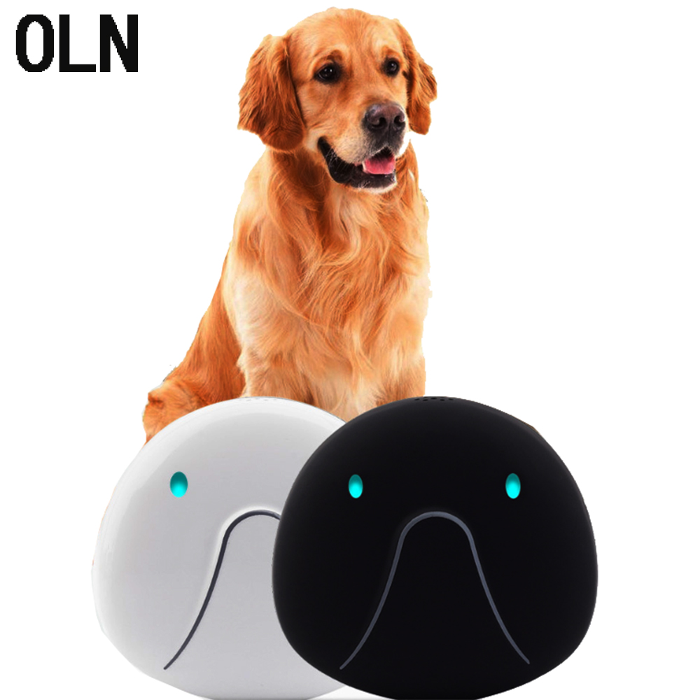 OLN Pet GPS Locator Cat and Dog Intelligent Mini Tracker Waterproof Lost-proof Necklace Tracking Device