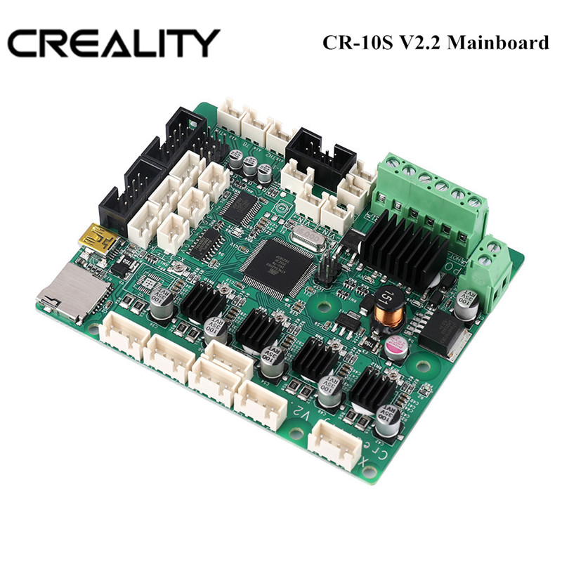 Hot Sale Creality 3D Upgrade Mothboard CR 10S V2.2 Mainboard For CREALITY 3D CR 10S 3D Printer Kit|3D Printer Parts & Accessories| |  - title=