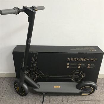 "Patinete eléctrico inteligente Original Ninebot MAX G30 Kickscooter 10 ""30 km/h 65km patinete plegable diseño de carga rápida Hoverboard"