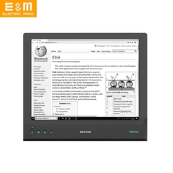 13,3 дюйма 2200x1650 2K E Ink Touch Monitor Paperlike Ebook Screen Flicler Free Display Eyes Care Edit Code Online Course DASUNG