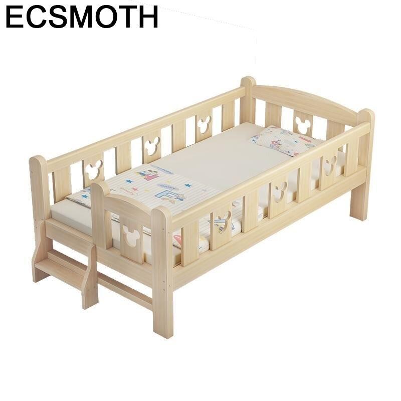 Mobilya Crib Kids Yatak Infantiles Chambre Ranza For Children Bedroom Muebles Cama Infantil Wodden Lit Enfant Baby Furniture Bed