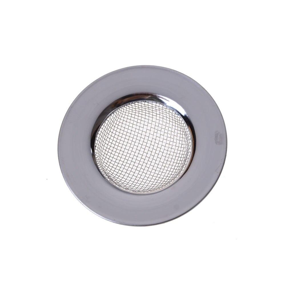 ZLinKJ Kitchen Stainless Steel Round Floor Drain Sink Filter Sewer Drain Hair Colanders & Strainers Filter Bathroom Sink Filter