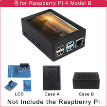 Abs-Case Raspberry Pi with Optional Cooling-Fan/2-Color Shell for 4B