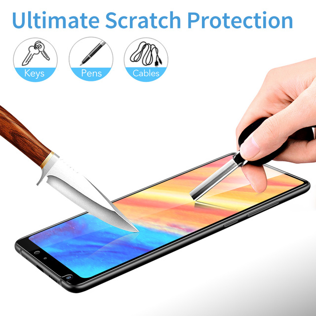 ESR For Xiaomi Mi MIX 2 2S Tempered Glass 3D 9H Anti Blu-ray Full Cover Phone Screen Protector glass xiaomi mi mix2s mix 2 s 4
