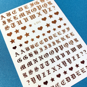Image 5 - أحدث سلسلة TSC 159 إلكتروني تصميم ثلاثية الأبعاد مسمار ملصقا لصائق تصدير اليابان وحيد القرن لتقوم بها بنفسك زينة لفن الأظافر