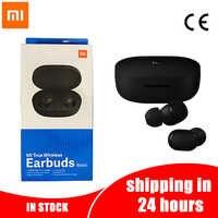Xiao mi Red mi Airdots Drahtlose Bluetooth Kopfhörer mi Airdots Globale Version Drahtlose Kopfhörer DSP Noise Cancelling Ohrhörer & mi c