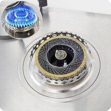 Нержавеющая сталь газовая плита фонарь ветрозащитная энергосберегающая круглая крышка чехол Сетка аксессуары для кухни