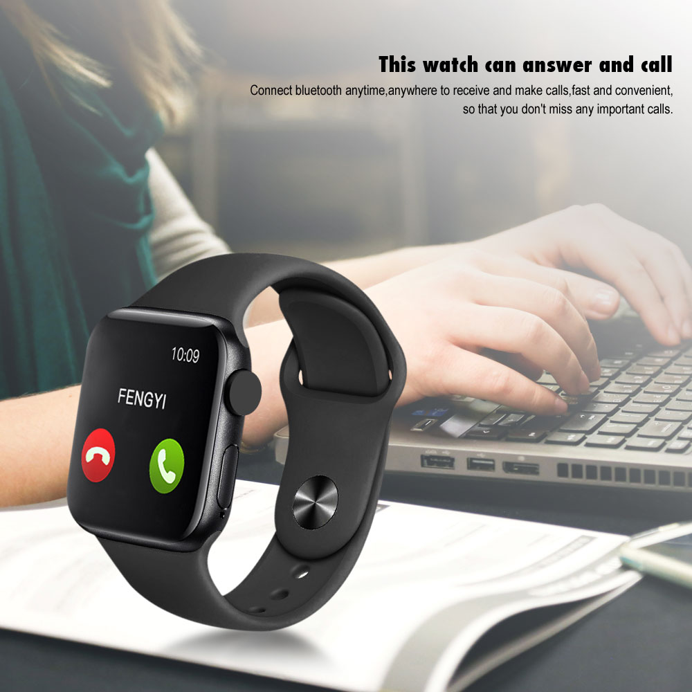 IWO Max Smart Watch Phone Call Bluetooth Smart Watch 1:1 Strap Change Waterproof 44mm Smart Band for IOS Android PK IWO 8 IWO13