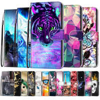 for Huawei Honor 10 20 10 Lite 6A 20 Pro 20s 7X 6A Pro 5T Holly 4 Case Flip PU Leather Wallet Case For Huawei P Smart 2019 Cover