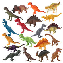 Various Jurassic Life Dinosaur Fossil Models Velociraptor Tyrannosaurus decorate Doll Early Education Toy Gifts for Children remote control tyrannosaurus velociraptor giganotosaurus rugops rc walking dinosaur toy with shaking head light sounds