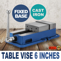 6 Inch Vise Precision Milling Drilling Machine Clamp Vice Fixed Base Bench Clamp
