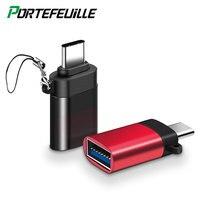 Type C to USB OTG 어댑터, 샤오미 레드미 노트 8 프로, 화웨이 P30, 구글 픽셀 2 XL, 삼성 S10 노트 10, A50 원플러스 7T 원 플러스 7 용