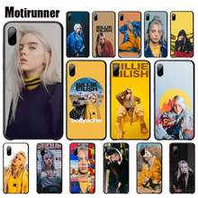 Motirunner Billie Eilish Khalid Lovely Mobile Case For Samsung Galaxy S3 S4 S5 S6 S7 Edge S8 Plus S9 Telephone Accessories(China)