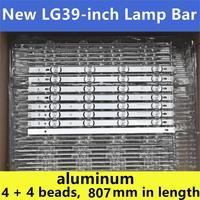 "8 Uds (4A + 4B) de retroiluminación LED para 390HVJ01 lnnotek drt 3 0 39 ""39LB5700 39LB650V 39LB5800 39LB561F NC390DUN VXBP2 V390HJ4 PE1|Abalorios luminosos| |  -"