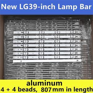 """Image 1 - 8 adet (4A + 4B) LED aydınlatmalı şerit 390HVJ01 lnnotek drt 3.0 39 """"39LB5700 39LB650V 39LB5800 39LB561F NC390DUN VXBP2 V390HJ4 PE1"""