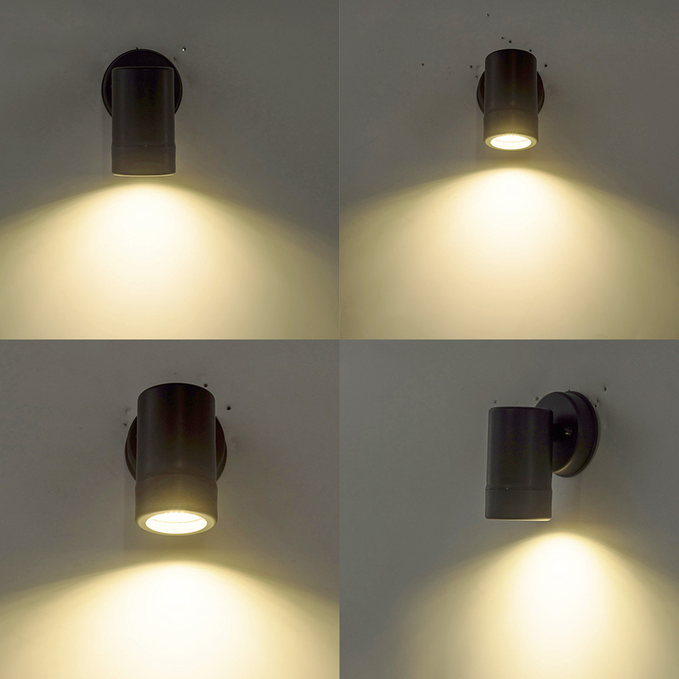 Led Wall Light Round Mounted