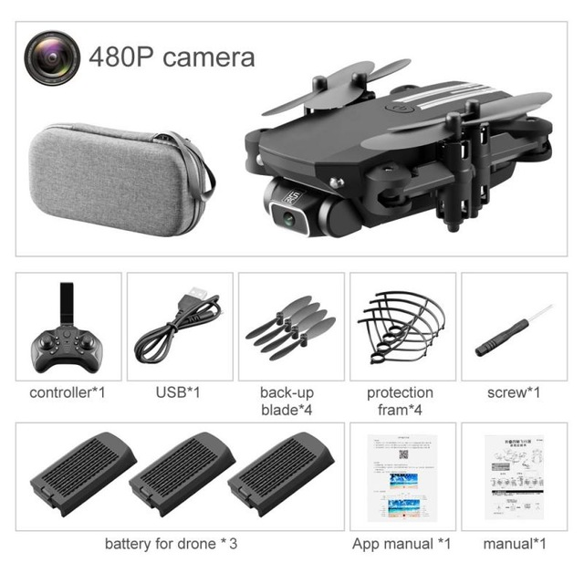 Drone 4k HD Camera Mini Drone WiFi Aerial Photography RC Helicopters Foldable Quadcopter Aircraft Dron Aircraft Kids Adult toys