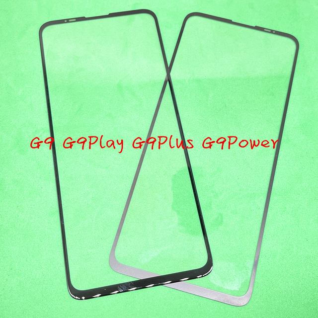 10Pcs Replacement LCD Front Touch Screen Glass Outer Lens For Motorola Moto G9 G9 Plya G9 Plus G9 Power / G9Plus G9Play G9Power