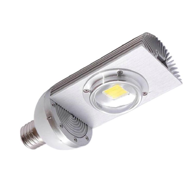 ECD Germany Farola LED de calle con sensor crepuscular 100W Blanco fr/ío 6000K AC85-265V Impermeable IP66-10.000 l/úmenes L/ámpara LED de calle exterior para Jard/ín//Patio//Carretera