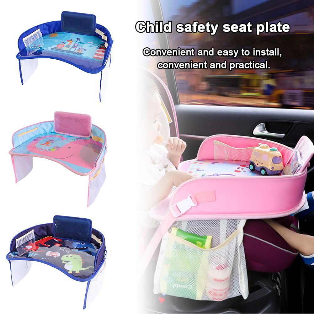 Multi-function Car Safety Seat Plate Car Paint Table Baby Eat Table For Children Stroller Car Chair Stroller Accessories