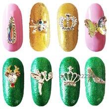 10 шт ювелирные украшения для ногтей кристальная корона волшебный