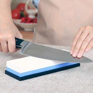 Image 5 - RISAMSHA 240 400 800 1000 5000 6000 8000 Professional Kitchen Knife Sharpener Water Honing Stone Sharpening System Whetstone