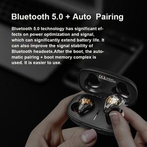 Image 4 - Whizzer OT1 Airdots TWS Auriculares Bluetooth 5.0 Tai Nghe Stereo Không Dây NC Có Mic Tai Nghe Tai Nghe Nhét Tai AI Điều Khiển