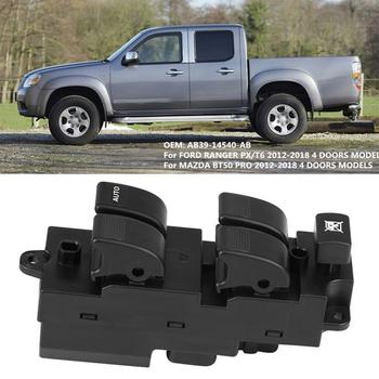 RHD elektryczny główny przełącznik okna przycisk dla Ford Ranger PX T6 MAZDA BT50 PRO 2012-2018 AB39-14540-AB stacyjka samochodowa tanie i dobre opinie RHD Side Power Master Window Switch for FORD RANGER PX T6 2012-2018 RHD Side Power Master Window Switch Okno dźwigni i okna uzwojenia uchwyty
