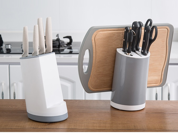 Multifunction Knife Holder Fashion And Versatile Kitchen Storage Tool Kitchen Knife Rack Cutting Board Holder Knife Stand