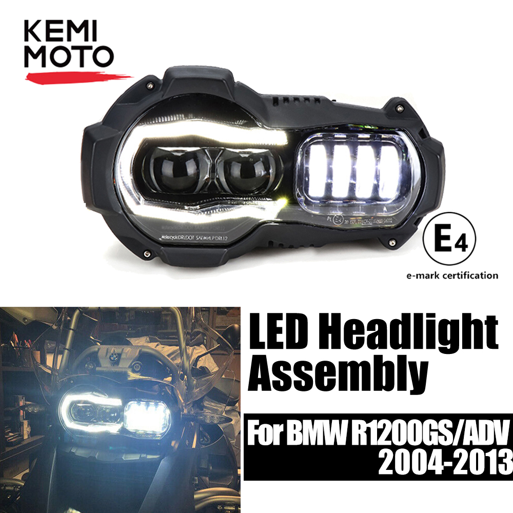 Headlight For BMW R1200GS Adventure 2004-2012 Motorcycle LED HeadLights For BMW GS 1200 GS Adventure Headlight Assembly