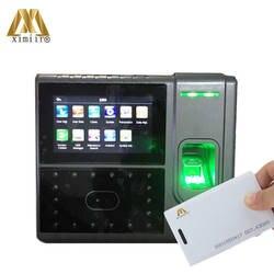 Iface503 RFID лица и распознавания отпечатков пальцев время устройство записи посещаемости с камера 4,3 экран TCP/IP двери управление доступом