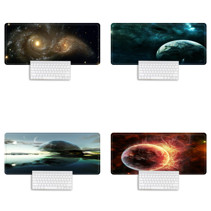 Starry Sky Extra Large Gaming Mouse Pad Anti-Slip Natural Rubber PC Computer Gamer Mouse Mat 800x300mm Mice Pad Mause Mat