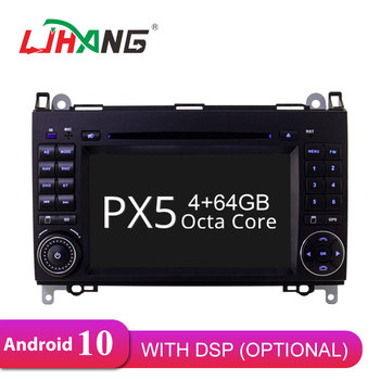 LJHANG Android 10 Car DVD Player For Mercedes Benz B Class B200 W169 W245 Viano Vito Sprinter B170 GPS Navi 2 Din Car Radio Auto image