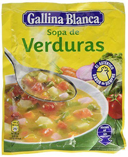 Sopa De Verduras Gallina Blanca 51gr (4 Raciones)