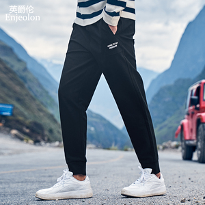 Enjeolon Sport Pants Cargo Cotton Men's