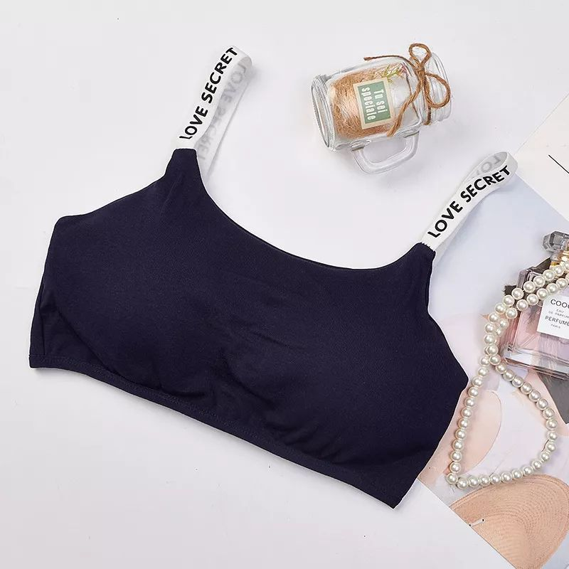 Girls Training Bra Wireless Thin Cup Bra Fashion Comfortable Teenage Underwear 8-15years 4