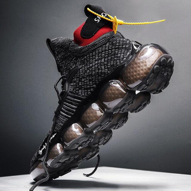 tenis masculino Zapatos de hombre, zapatillas de deporte para hombre, zapatos casuales tenis de lujo, zapatillas de entrenamiento de carrera blancas, mocasines de moda, zapatillas de correr para hombre 1