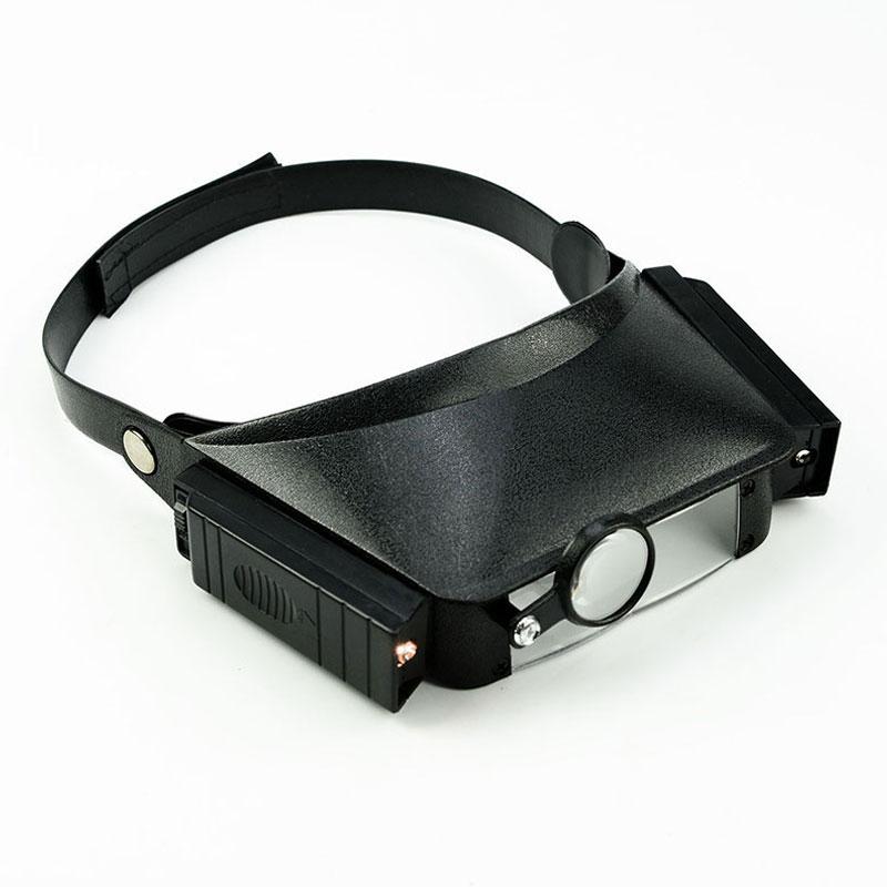 1,8x 2,3x 3,7x 4,8x šalmo padidinamasis stiklas iš trečiosios - Matavimo prietaisai - Nuotrauka 3