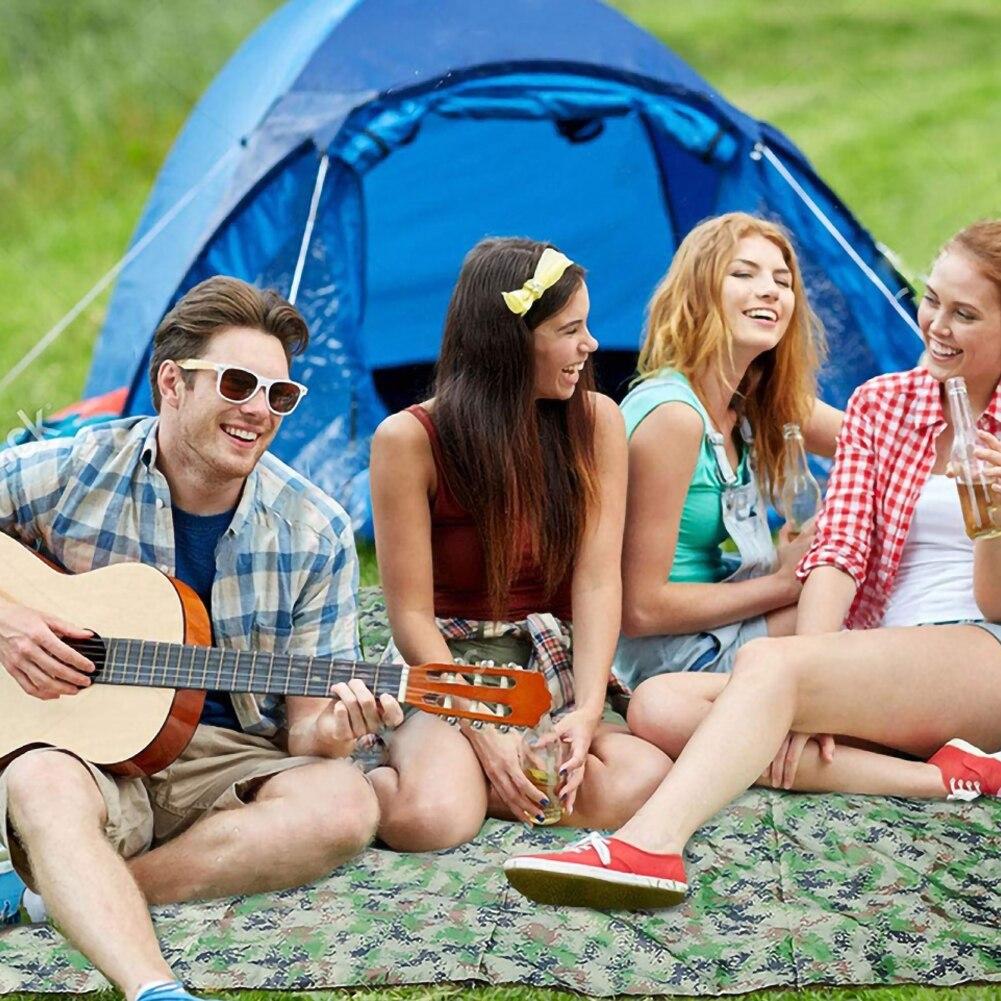 Водонепроницаемый кемпинг палатка брезент укрытие гамак тент солнце тень дождь муха чехол 100X145 см
