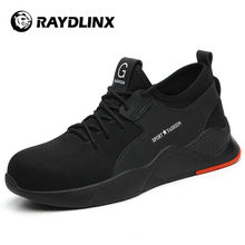 RAYDLINX Security Waterproof Anti Slip Lightweight Breathable ConstructionSafety Shoes With Steel Toes