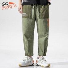 GOESRETSA Summer New Men Trousers Cotton Multicolor Large Si