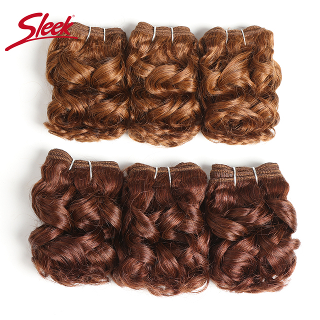 Mèches naturelles brésiliennes Remy à Double tirage   Cheveux humains, lisses, bouclés, couleur rouge P4/27 #, 99j # bordeaux #100 grammes, Extension de cheveux, 3 pièces