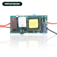 Transformador de luz LED para ventilador de CPU, fuente de alimentación de 12V/24V, 6W, 12W, 24W, 36W, 60W, 84W, 100W, 120W, 220V